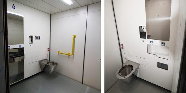 selbstreinigender Sanitärraum Modell TWATER-Serie