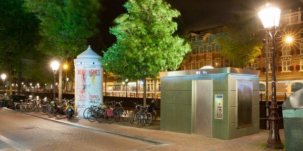 selbstreinigende Toilettenanlage Modell TMAX