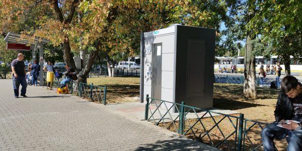 selbstreinigende Toilettenanlage Modell: TONE