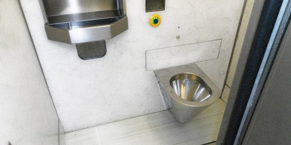 selbstreinigender Sanitärraum Modell TBOX